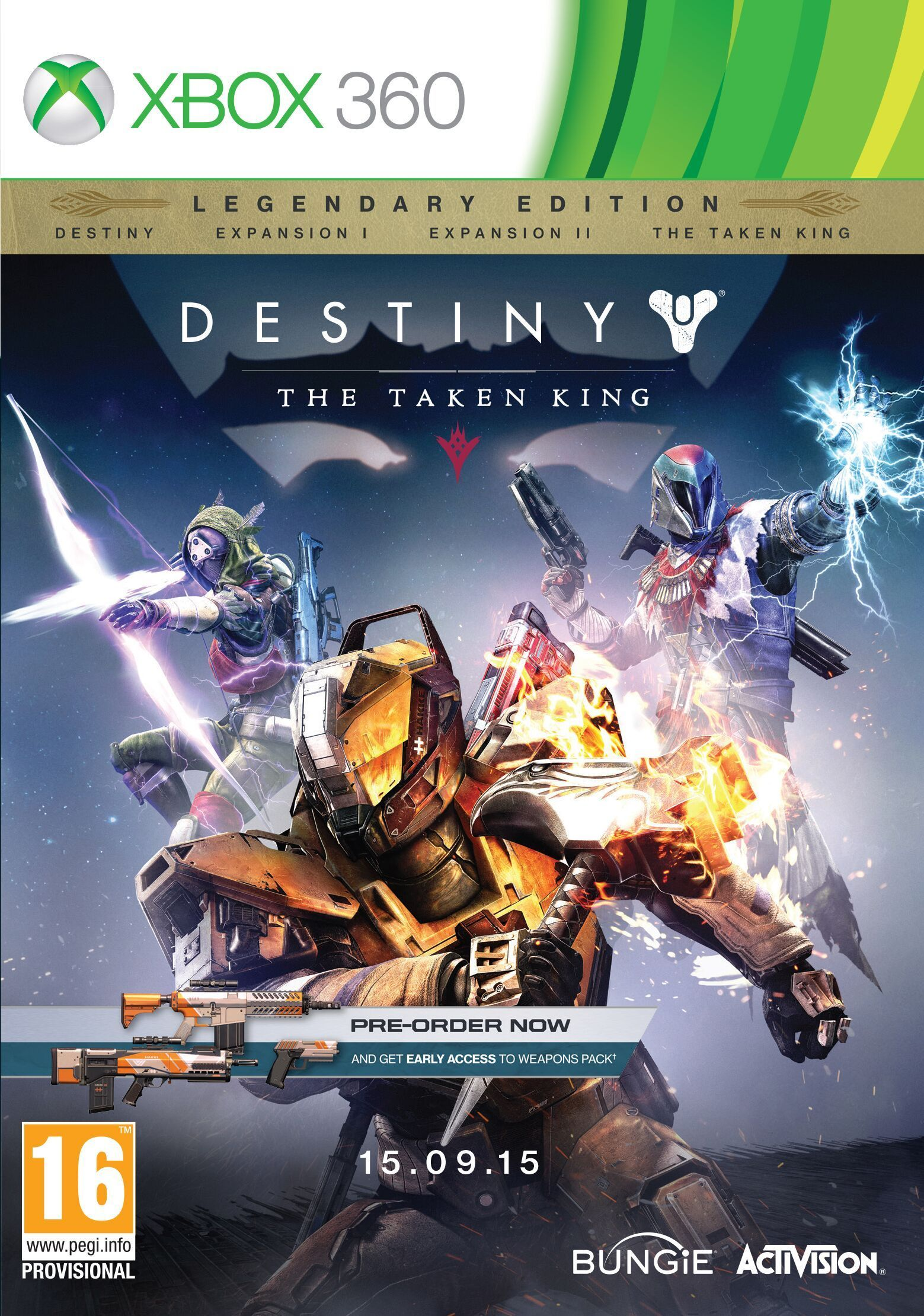 Destiny the taken king legendary edition xbox 360 new buy from