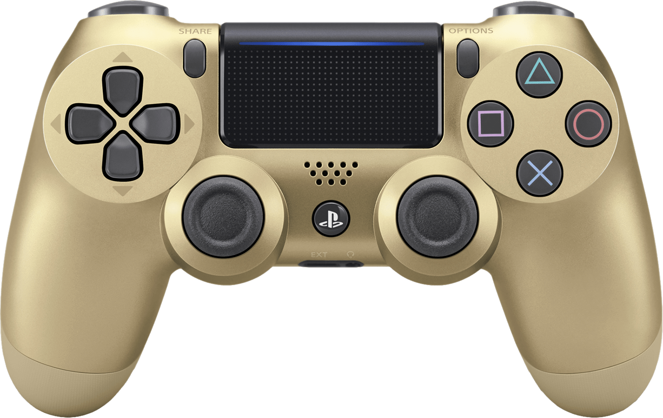 Playstation 4 Dualshock 4 Controller V2 Gold Ps4 Pwned Buy From Pwned Games With